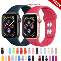 резиновые браслеты Скидка браслет Резиновый ремешок для часов для серии 4 3 2 1 Apple watch Силиконовый ремешок для ремешка для Apple ремешок для часов Ремешок 40мм 44мм 42мм 38мм