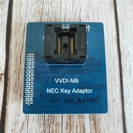 2019 outil de compteur kilométrique L'adaptateur de clé Nhor MB VVDI MB NEC fonctionne avec l'outil TOOL VVDI MB BGA