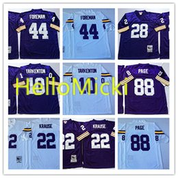 3b4c0fe0b purple football jersey 28 2019 - Mens  10 Fran Tarkenton Vintage Football  Jersey Stitched