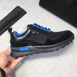 Chaussures hommes boutique en Ligne-2019 chaussures de sport pour hommes de haute qualité véritable peau de vache respirant mesh boutique haute qualité double semelle forme super confortable Eu 38-45