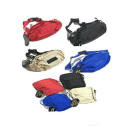 Sac banane noir en toile en Ligne-Designer taille sac noir rouge 18SS 3M 44ème mode unisexe Fanny Pack mode taille hommes toile Hip-Hop ceinture sac hommes sac à bandoulière 3 m