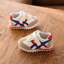 Chaussures garçons ans en Ligne-2019 0 à 3 ans garçons et filles sport chaussures mode bébé casual chaussures nouveau-né doux première marche baskets antidérapant bambin
