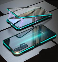 huawei honor pro Rebajas Caja de vidrio templado frontal y trasera con adsorción magnética para Huawei Honor 20 Pro Honor 20i Mate 20 Pro Mate20 P20 Pro Mate 20Lite