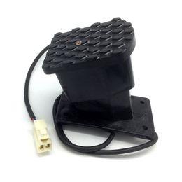 2019 пластиковые велосипедные педали Черный пластик ATV ноги дроссельной заслонки акселератор педаль управления скоростью дроссельной заслонки, пригодный для электрический велосипед скутер M77 дешево пластиковые велосипедные педали
