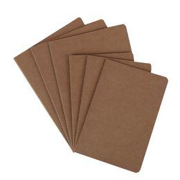 титульный лист памятки Скидка Записная книжка из крафтовой бумаги, блокнот из натуральной кожи, винтажная мягкая тетрадь, ежедневная заметка