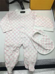 Bebê meninos meninas macacão crianças manga comprida macacões de algodão infantil meninas carta de algodão Romper menino roupas para frete grátis de Fornecedores de padrões de bebê romper de inverno
