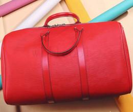 la bolsa de asas del gimnasio del poliéster Rebajas Bolsa de viajepolochonbolso para hombre del diseñador Bolsa de viaje al aire libre materia de equipajeVXCENARbolsas 0