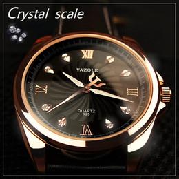 relógio digital personalizado Desconto Núcleo importado de alta qualidade rosa mostrador de ouro com diamantes apresenta ponteiro de design à prova d 'água homens de negócios relógio mens logotipo personalizado relógio