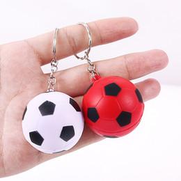 2020 bolas de golfe futebol Futebol 5pcs Esporte Futebol Keychain Golf Ball Pingente Chave do carro Anel Chaveiro Acessórios Jóias Presentes para meninos e meninas bolas de golfe futebol barato
