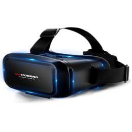 2019 masques de téléphone K2 3D Vr Réalité Virtuelle Vr Lunettes En Cuir Véritable Masque Pour Les Yeux Smart Casque Stéréo Jeu Cinéma Boxes Convient Pour Smart Phone masques de téléphone pas cher
