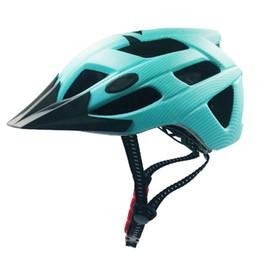 Супер легкие шлемы велосипеда онлайн-Новые 3 светодиодных режима MTB Велосипедный шлем All-Terrai Горный велосипед Спорт Безопасность Велоспорт Шлем OFF-ROAD Super Road Bike light