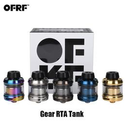 Tanque vs gotejamento on-line-OFRF Engrenagem RTA Tanque RTA Ultra Pequeno Com 510 PCM Drip Ponta 22mm Alemão Peek Isolador 3.5 ml Capacidade VS NexMESH Tanque Autêntico