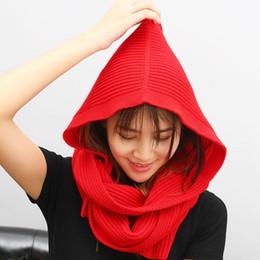 cappello invernale della corea Sconti LANMREM 2019 nuova primavera con cappelli di fondo berretto scialle sciarpa donna inverno berretto da baseball cappello maglia di lana Corea WD13202