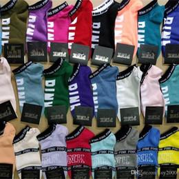 al por mayor calcetines de bandera americana Rebajas Moda Rosa Calcetines negros Algodón adulto Calcetines cortos de tobillo Deportes Baloncesto Fútbol Adolescentes Animadora Nuevo Sytle Niñas Mujeres Calcetín con etiquetas