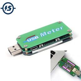 Lcd power ic онлайн-Бесплатная доставка UM24 USB 2.0 IC тестер вольтметр амперметр ЖК-цифровой мультиметр термометр измеритель мощности емкость аккумулятора тестер