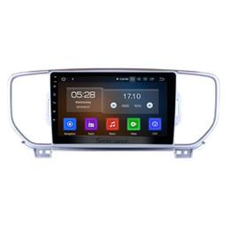 Зеркало gps dvr камера онлайн-9-дюймовый Android 9.0 Автомобильный GPS-навигатор для 2016-2018 Kia KX5 с Wi-Fi Bluetooth Mirror Link поддержка автомобильного DVD OBD2 DAB + DVR Задняя камера