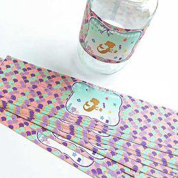 2019 etichette di festa di compleanno 24 Pz / pacco Dreamy Mermaid Bottiglia di acqua minerale Etichetta dolce bottiglia di acqua adesivi Bar Decor per bambini Birthday Party Supplies sconti etichette di festa di compleanno