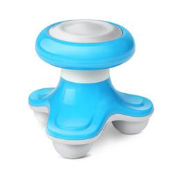 Mini vibromasseurs en Ligne-Mini électrique manipulé Wave Vibrating Massager vibrateurs de massage Retour masseur USB rechargeable Full Body Massage gros par DHL