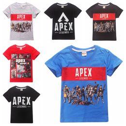 d8b2f4706042b Légende Apex T-shirt en coton pour enfants Big Boy manches courtes t-shirt  enfants été tops tee vêtements 14 modèles de haute qualité imprimé