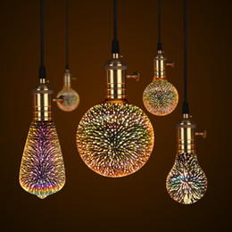 3D светодиодные лампы Эдисон лампа старинные украшения E27 110 В 220 В светодиодные лампы накаливания медный провод строка заменить лампы накаливания supplier e27 string lights от Поставщики e27 струнные огни