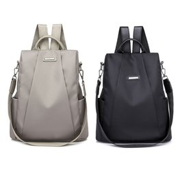 корейские модные рюкзаки Скидка Casual Style Korean Oxford Backpack Anti-Theft Women Bagpack Fashionable D 'Water Lightweight School Bag Teenage Girls