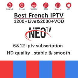 Жить бокс тв онлайн-Neotv Pro Французский IPTV Подписка Live TV VOD Фильмы Каналы Французский Арабский Великобритания Европа Нео один год Smart TV Mag Box MAG M3U Android