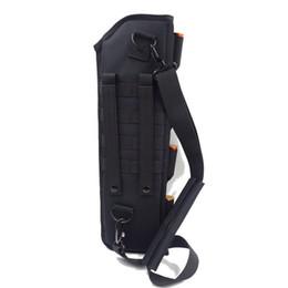 Equipo de supervivencia Bolsas tácticas Bolsas Molle Bolsa de funda de escopeta de barril corto, Bolsa de pistolera de hombro portátil para acampar al aire libre desde fabricantes