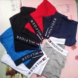 dvd de navegación de lexus Rebajas 6pcs para hombre / conjunto de ropa interior de algodón calzoncillo retro Pantalones cortos Mezcla Colores TH01