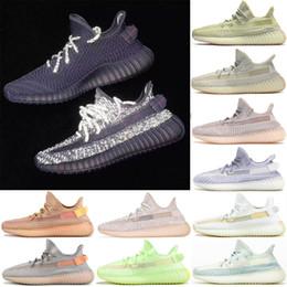 Sapatas de tênis do desenhista dos homens on-line-adidas sply 350 v2 boost Zebra Reflexivo Mens Sapatos de Grife Das Mulheres Creme Nuvem Branca Forma Verdadeira Sapatos de Esportes Em Execução Sneaker 5-13