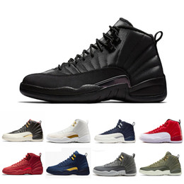 High Quality CNY Winterized 12 XII 12s Mens Basketball Shoes Gym Red Milan Bordeaux French Blue Wolf Grey Athletic Sports Sneakers da