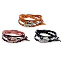 6d4172ad8 2019 New Silver Violin Viola Cello Charm multilayer Leather Bracelets  Fashion Jewelry DIY For Women Men