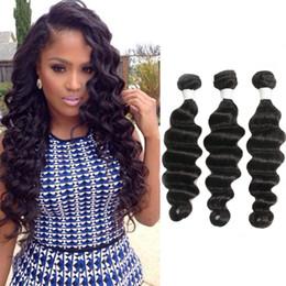 2019 естественное скручивание 16 дюймов Бразильские свободные волны волос пучки 100% человеческих волос ткать естественный цвет портниха волос 8-26 дюймов можно купить 3 шт.