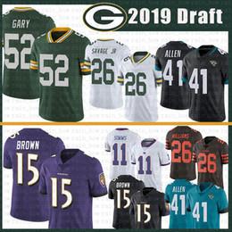 68d53b9bc jaguars jerseys Promo Codes - 52 Rashan Gary Jersey Green Bays Packers 26  Darnell Savage Jr