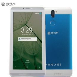 2018 Новый 7-дюймовый Android 6.0 Quad Core 3G Телефонный звонок Dual SIM 16 ГБ Планшетный ПК Wifi Bluetooth Металлический корпус таблетки для большой скидкой supplier discount bluetooth от Поставщики скидка bluetooth