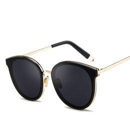 Nuovi occhiali da sole coreani di moda, nuovi occhiali da sole in metallo, occhiali da sole abbaglianti, occhiali da sole retrò da donna e da uomo, 2019 da occhiali coreani fornitori