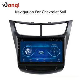 Chevrolet navegación con pantalla táctil online-Sistema de multimedios con pantalla táctil de 9 pulgadas con Android 8.1 para Chevrolet Sail 2015-2018 gps radio navegación
