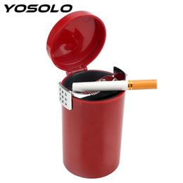 Design Redondo Silicone Restaurante Cigarro Ash Suporte Cinzeiro Container