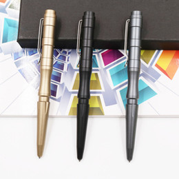 self writing pen Promo Codes - New Self Defense Personal Safety Tactical Pen Emergency Survival EDC Tool With Writing Function Free DHL