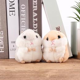 2019 brinquedos de bugigangas 1 Pcs Bonito Novo Trinket Mini Hamster KeyChains Mulheres Boneca de Brinquedo Macio Anel Chave Do Carro Bolsa Decoração brinquedos de bugigangas barato