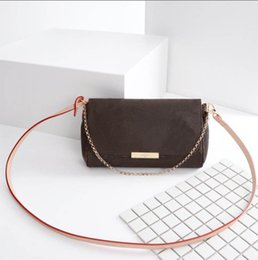 24e9685ee4 Ultime Donna Croce Corpo FAVORITE Borsa media Luxury Brand Fashion Donna  Designer borsa plaid lettere tre stili Modello M40718 borse di marca della  donna ...