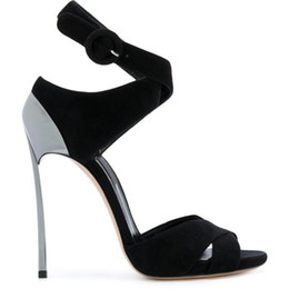 Ботинки платья ботинок лодыжки онлайн-Бесплатная доставка модные женские сандалии черный лодыжки Wrap туфли на высоких каблуках дамы ночной клуб туфли на высоком каблуке танцевальные туфли ну вечеринку обувь офис размер