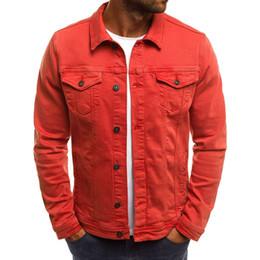 Argentina Zogaa primavera nueva chaqueta de mezclilla color sólido marca simple en tiempo real para hombres chaqueta delgada de mezclilla ocasional 6 color más supplier men denim jacket slim xs Suministro