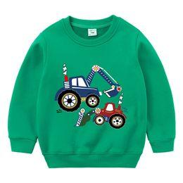 2019 ropa de temporada de invierno bebé Suéter para niños engrosamiento 2019 temporada de invierno bebé cálido más terciopelo bebé hombres y mujeres dobles de dibujos animados suministro de ropa casual ropa de temporada de invierno bebé baratos