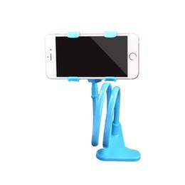 клип ленивый телефон Скидка Ленивый кронштейн мобильного телефона Шланг двойной клип настольный прикроватный автомобиль универсальный многофункциональный кронштейн мобильного телефона ДЛЯ: iphone Samsung Huawei