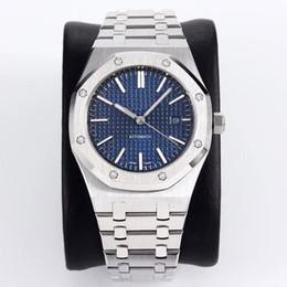 Высококачественные роскошные часы 42 мм автоматические механические часы 15400 изготовлены из стали 316L для изготовления сапфировых зеркал глубиной 30 метров от