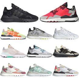 adidas nite jogger ultra boost vans vans gel ascis Fashion Trainer Nite Jogger Schuhe Herren Damen Schuh CORE BLACK SHOCK RED Originals Klassische
