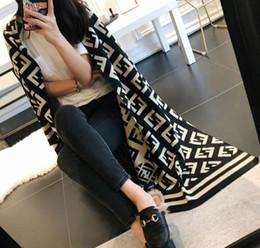Couvertures de luxe en cachemire en Ligne-Mode Hiver Top Cachemire Marque De Luxe Chaud Écharpe pour Femmes Hommes F Designer Grand Couverture Foulards Infinity Écharpes Écharpe Châle