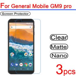 экран gm Скидка 3pcs ultra clear Soft LCD For General Mobile gm9 pro Screen Protectors guard Cover For General Mobile gm 9 pro Protective Film