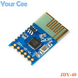 dvd électronique Promotion JDY-40 2.4G émetteur-récepteur de transmission de port série sans fil et module de communication à distance IO TTL bricolage électronique pour Arduino