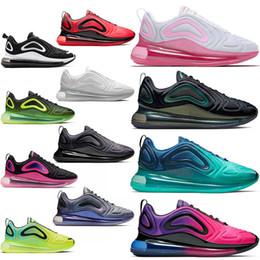 Nike air max 720 airmax 720s maxes Zapatillas Free Run Cojín para correr Zapato triple s Blanco Negro Moda Hombre Zapatillas deportivas Diseñador de marca de lujo desde fabricantes